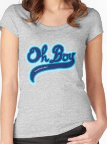 Oh Boy! - Quantum Leap Women's Fitted Scoop T-Shirt