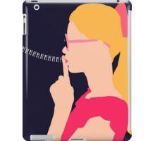 shhhhhh iPad Case/Skin
