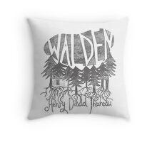 Walden (grey) Throw Pillow