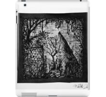 ruin in the forest iPad Case/Skin