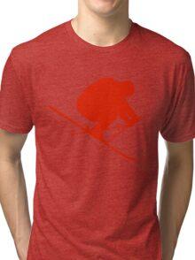Skier  Tri-blend T-Shirt