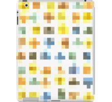 Pixel flowers iPad Case/Skin