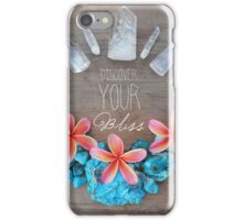 Discover Your Bliss iPhone Case/Skin