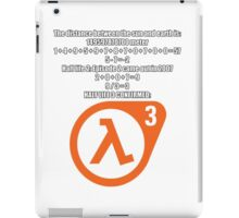 Halflife 3 confirmed iPad Case/Skin
