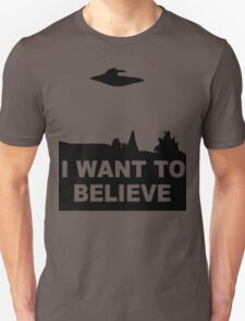 x files i want to belive T-Shirt