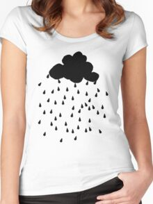 Rain Cloud Women's Fitted Scoop T-Shirt