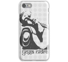 Yoga Nidra - Buddha Graphic iPhone Case/Skin