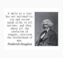 A Smile Or A Tear - Frederick Douglass Baby Tee