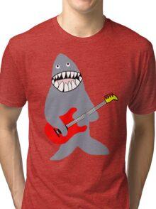 Shark Rockstar Tri-blend T-Shirt