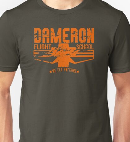 dameron flight school Unisex T-Shirt