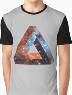 Impossible triangle galaxy Graphic T-Shirt