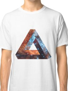 Impossible triangle galaxy Classic T-Shirt
