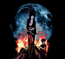 elvira mistress of the dark moon by magenandstacy