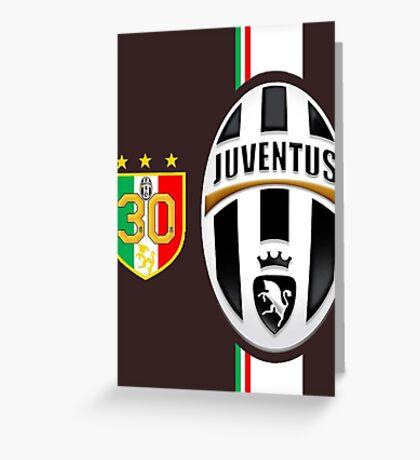 Juventus Juve campioni d'italia Greeting Card