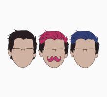 Markiplier Trio Kids Tee