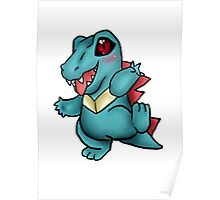 Adorable Totodile! Poster