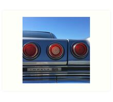 That's Right, Tail Lights Art Print