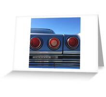 That's Right, Tail Lights Greeting Card