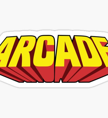 Arcade Yellow Sticker