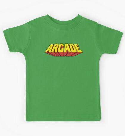 Arcade Yellow Kids Tee