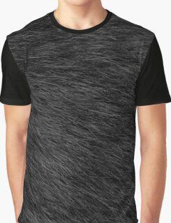 BLACK CAT FUR Graphic T-Shirt