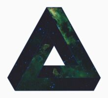 Impossible Triangle Galaxy Baby Tee