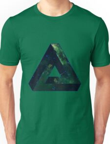 Impossible Triangle Galaxy Unisex T-Shirt