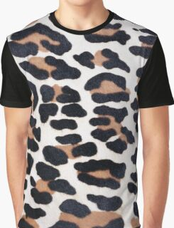 BLACK AND BROWN LEOPARD Graphic T-Shirt