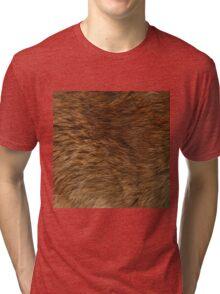BEAR FUR Tri-blend T-Shirt