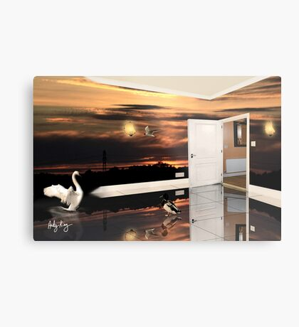The Sunset Room Metal Print