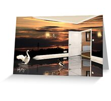 The Sunset Room Greeting Card