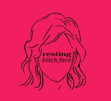 Resting Bitch Face (RBF) Womens Fitted T-Shirt