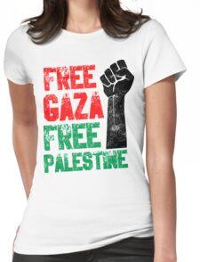 Free Gaza Free Paletina Womens Fitted T-Shirt
