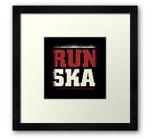 Run Ska Framed Print