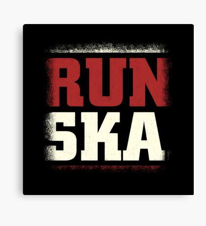 Run Ska Canvas Print