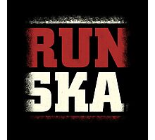 Run Ska Photographic Print