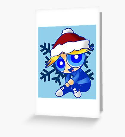 Santa Boomer Greeting Card