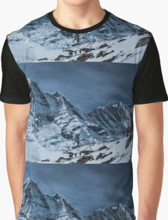 High Altitude Snow Mountains Graphic T-Shirt