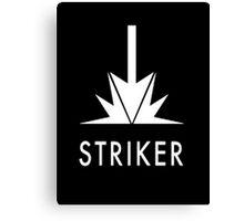 Striker. Canvas Print