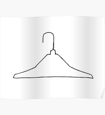 Wire Hanger Poster