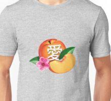peach / love / 愛 Unisex T-Shirt