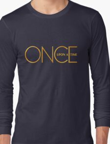 Once Upon A Time - logo Long Sleeve T-Shirt