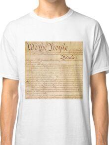 US CONSTITUTION Classic T-Shirt
