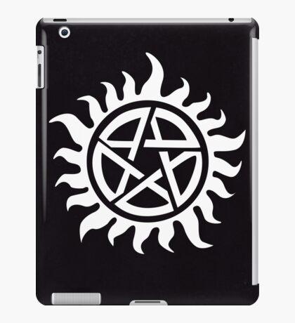 Supernatural Demon Possession Protection [WHITE] iPad Case/Skin