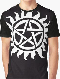 Supernatural Demon Possession Protection [WHITE] Graphic T-Shirt