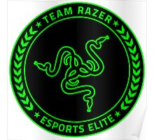 Razer Logo   Team Razer Esports Elite Poster
