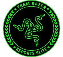 Razer Logo | Team Razer Esports Elite Photographic Print