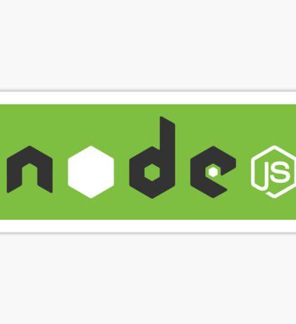 node js 002 green Sticker