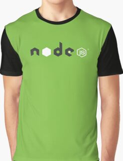 node js 002 green Graphic T-Shirt