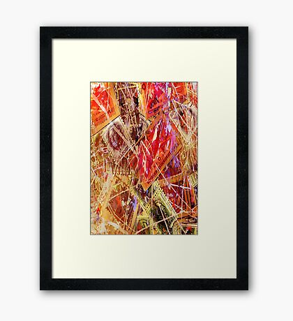 The Stamps Framed Print